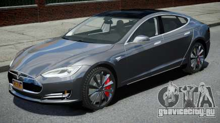 Tesla Model S P90D 2016 для GTA 4