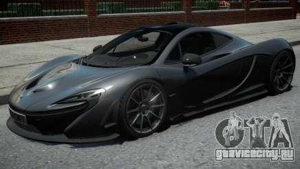 McLaren P1 2013 Black для GTA 4