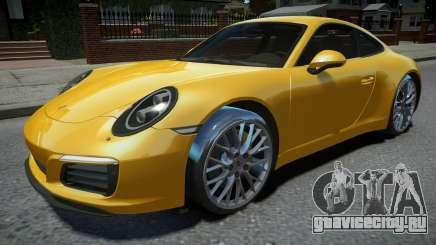 Porsche 911 Carrera S 2017 для GTA 4