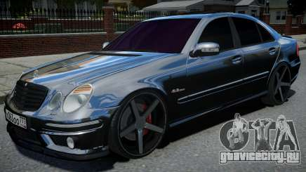 Mercedes-Benz E63 W211 AMG Black для GTA 4