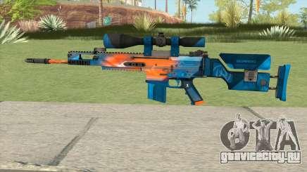 CS-GO SCAR-20 (Intervention Skin) для GTA San Andreas