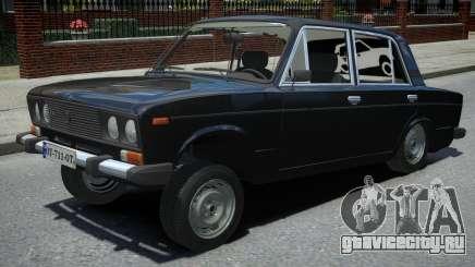 ВАЗ 2106 Black для GTA 4