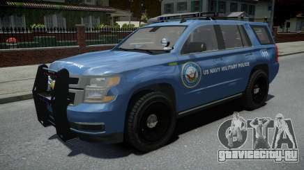 Chevrolet Tahoe US NAVY Military Police для GTA 4