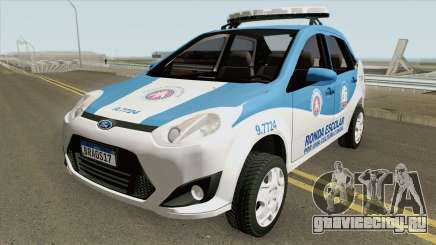 Ford Fiesta Sedan 2010 (Ronda Escolar PMBA) для GTA San Andreas