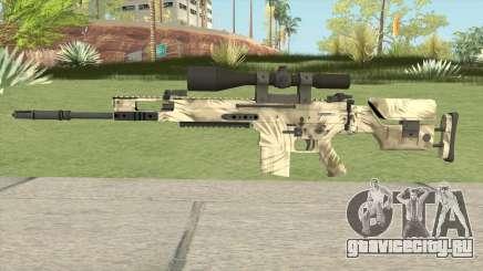 CS-GO SCAR-20 (Palm Skin) для GTA San Andreas