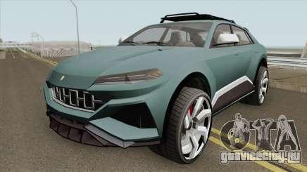 Pegassi Toros GTA V HQ для GTA San Andreas