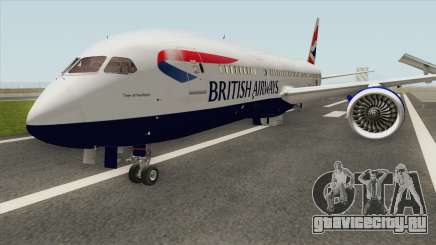 Boeing 787-8 Dreamliner (British Airlines) для GTA San Andreas