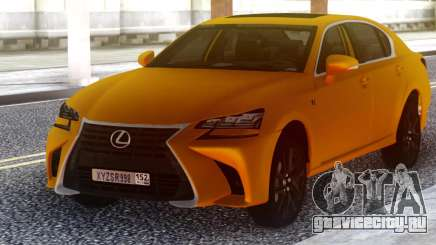 Lexus GS350 2018 Golden для GTA San Andreas