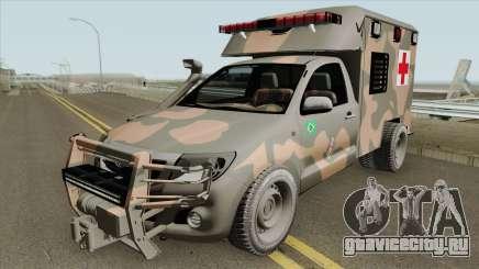 Toyota Hilux 2015 Ambulance для GTA San Andreas