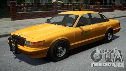 Vapid Stanier Classic Taxi для GTA 4