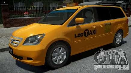 Honda Odyssey US Taxi 2006 для GTA 4