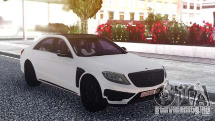 Mercedes-Benz B850 W222 White для GTA San Andreas