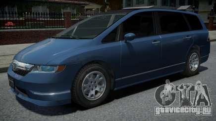 Honda Odyssey International 2006 для GTA 4