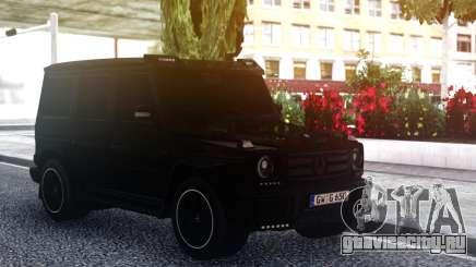 Mercedes-Benz G55 AMG BLACK для GTA San Andreas