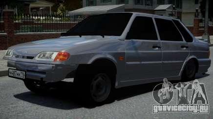 ВАЗ 2115 AzeLow для GTA 4