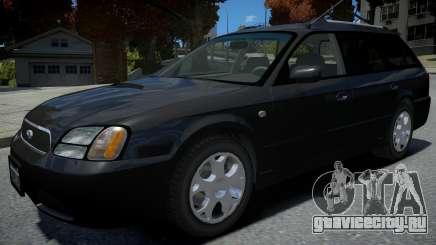 Subaru Legasy Wagon 2000 для GTA 4