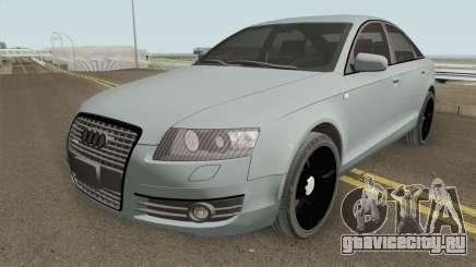 Audi A6 C6 Black Edition для GTA San Andreas