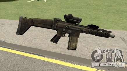 Contract Wars SCAR-H для GTA San Andreas