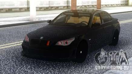 BMW M5 E60 Black Stock для GTA San Andreas