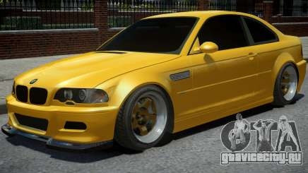BMW M3 E46 Yellow для GTA 4