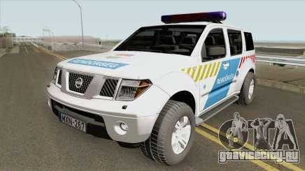 Nissan Pathfinder Magyar Rendorseg (Feher) для GTA San Andreas