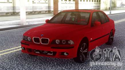 BMW E39 Stock Red для GTA San Andreas