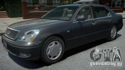 Lexus LS 430 2001 для GTA 4