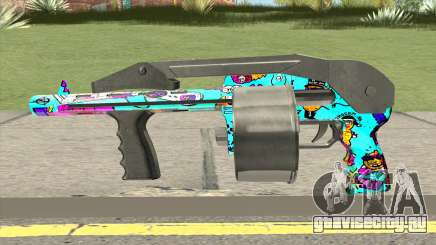 Shotgun (Cartoon Skin) для GTA San Andreas