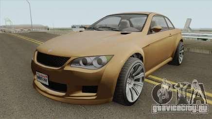 Ubermacht Sentinel XS Custom Stock GTA V IVF для GTA San Andreas