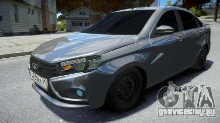 Lada Vesta Sedan для GTA 4