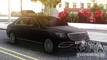 Mercedes-Benz Maybach Sedan для GTA San Andreas
