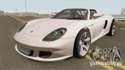 Porsche Carrera GT 2003 HQ для GTA San Andreas