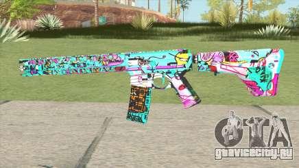 M4 (Cartoon Skin) для GTA San Andreas