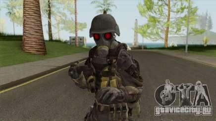 Hunk From RE 2 Remake для GTA San Andreas