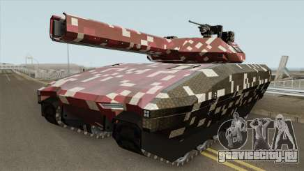 Khanjali With Digital Camouflage Livery V2 для GTA San Andreas