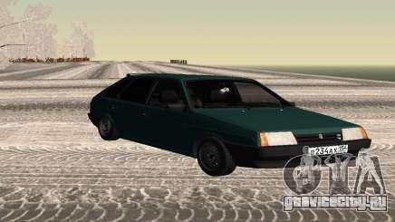 ВАЗ 2109 Сток Хэтчбэк для GTA San Andreas