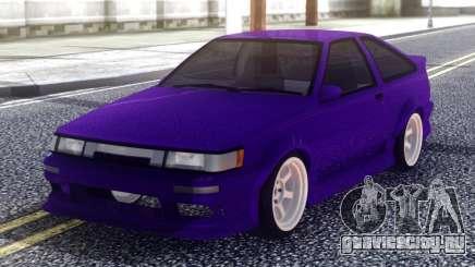 Toyota AE86 Sport для GTA San Andreas