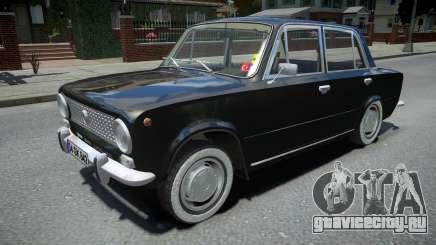 Tofas Murat 124 Sedan для GTA 4