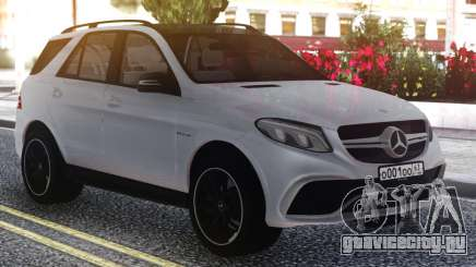 Mercedes-Benz GLE 63s FIX Gray для GTA San Andreas
