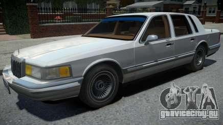 Lincoln Town Car 1990 для GTA 4