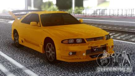 Nissan Skyline R32 GT-R Orange для GTA San Andreas