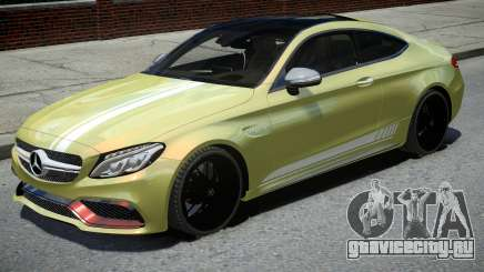 Mercedes-Benz AMG C63 S Coupe 2016 для GTA 4