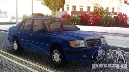 Mercedes-Benz W124 E500 Blue для GTA San Andreas