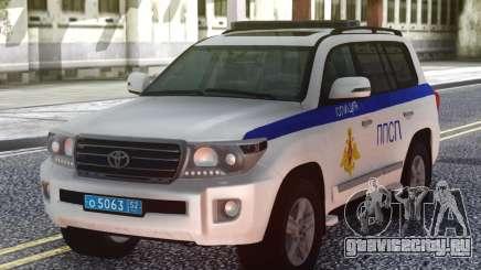 Toyota Land Cruiser УМВД России для GTA San Andreas