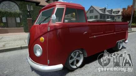 Volkswagen Kombi Pick-Up для GTA 4