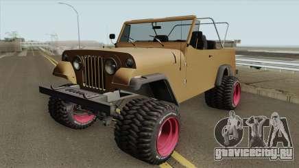 Jeep Commando 1969 для GTA San Andreas