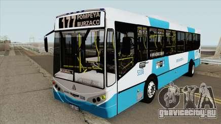 Linea 177 Metalpar Iguazu II Agrale MT15 Interno для GTA San Andreas