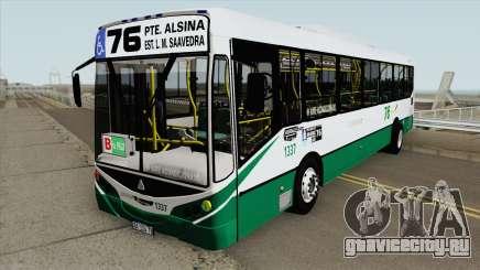 Linea 76 Metalpar Iguazu II Agrale MT17 Interno для GTA San Andreas