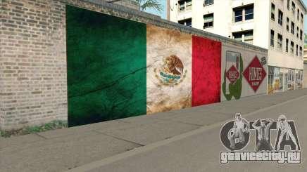 Graffiti De La Bandera De Mexico для GTA San Andreas