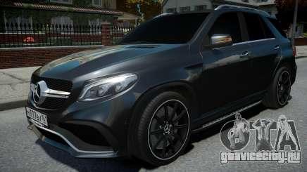 Mercedes-Benz ML 63 AMG для GTA 4